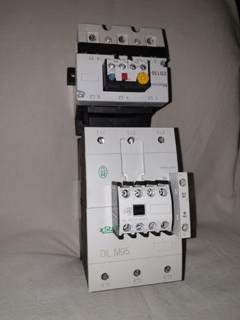 Stycznik mocy Dilm95-22 + Przekaźnik przeciążeniowy ZB150
