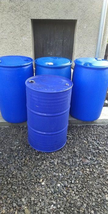 Sprzedam niebieskie beczki na wodę ! Kończyce Wielkie - image 1