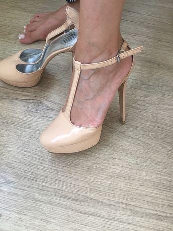Туфли Pelle итальянские, кожаные 39 размер