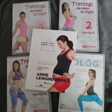Aktywna w ciąży,zestaw dvd Angelika Pióro Anna Lewandowska healthy mom