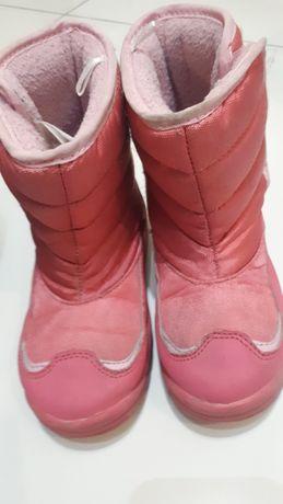 Buty zimowe dziewczęce 27