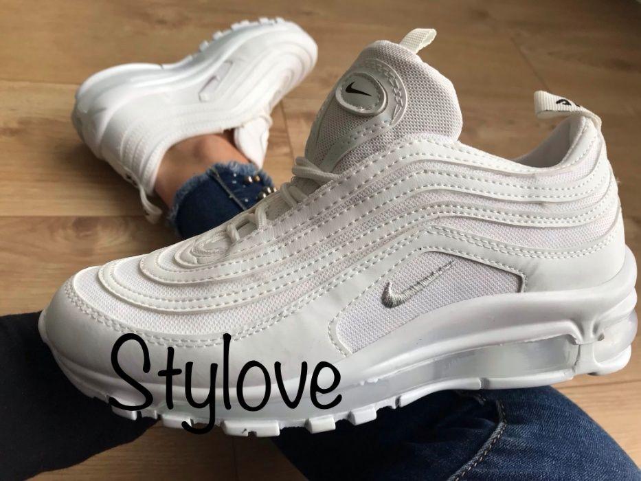 Nike Air Max 97 Rozmiar 39. Białe. WYPRZEDAŻ!!!