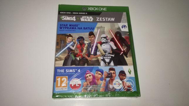 xbox one The Sims 4 + Star Wars Wyprawa na Batuu PL nowa!