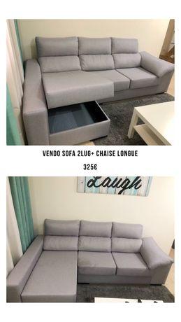 Sofá Chaise Longue (Pronto para entrega)