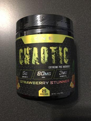 Chaotic Extreme Pre Workout 325g DMAA USA Mocna Przetreningówka+GRATIS