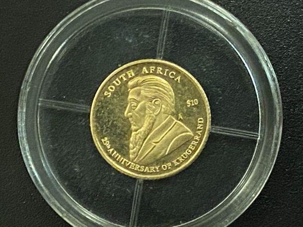 Złota moneta, żeton kolekcjonerski Krugerrand