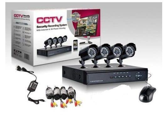 Zestaw kamer monitoring do domu, magazynu, biura - podgląd online