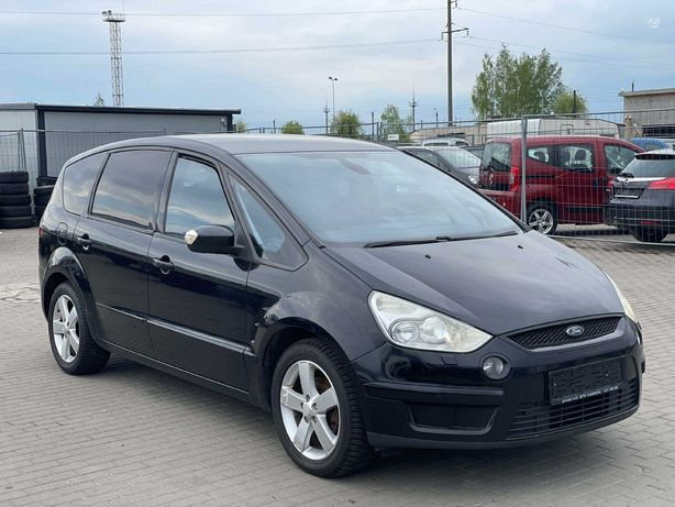 Ford S-MAX, 2.0 l., Минивэн,газ/бензин