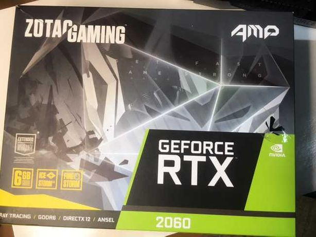 Placa Gráfica Zotac GeForce® RTX 2060 AMP Edition 6GB