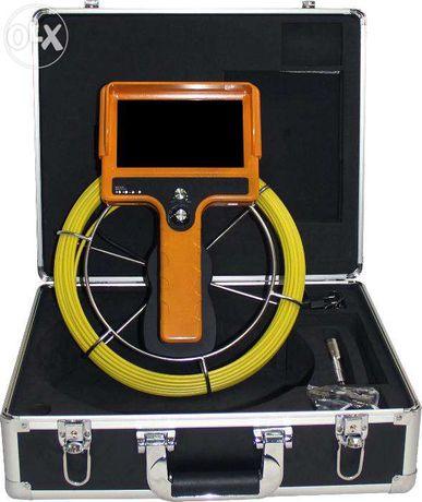 Endoscópio Industrial Manual com Câmara de inspeção de tubagens 20 mt