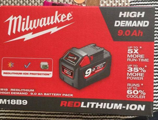 Milwaukee bateria 9.0ah