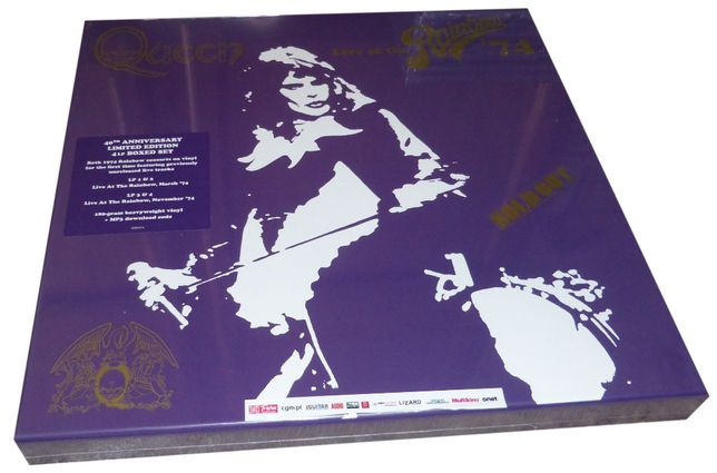 QUEEN - Live At Rainbow - LIMITED BOX 4LP