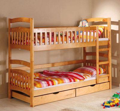 Двухъярусная кровать дерево, Трансформер, от мебельной фабрики