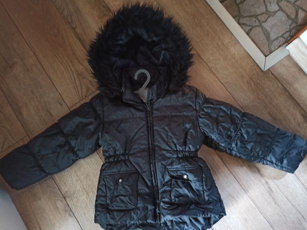 Czarna kurtka zimowa OUTWEAR BY LINDEX, 110
