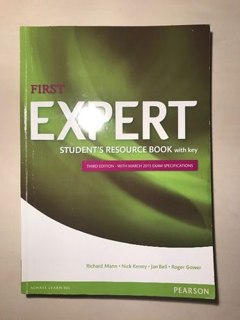 First Expert student's resource book with key & coursebook PEARSON