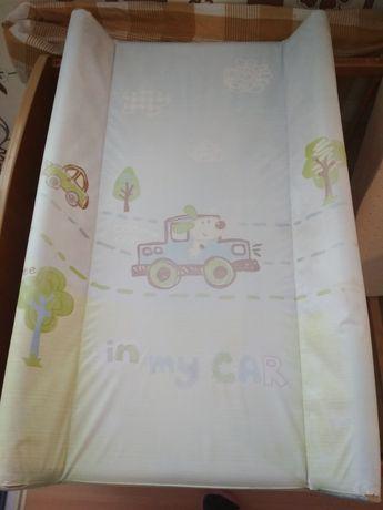 Przewijak na łóżeczko 50x70 + 2 pokrowce