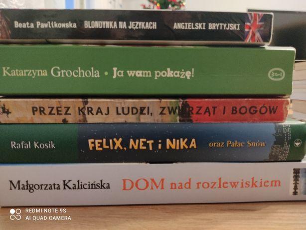 Książki różne 5 szt.