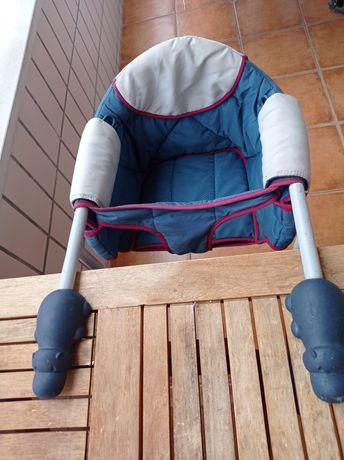 Cadeira de mesa para bebé chico