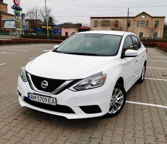 Автомобиль Nissan Sentra 1.8 2016 белый