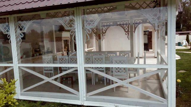 М'які вікна, мягкие окна для альтанок, кафе ресторанів. Пвх дах, дашок