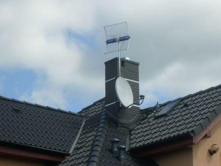 instalacje anten, ustawienie , telewizja naziemna,