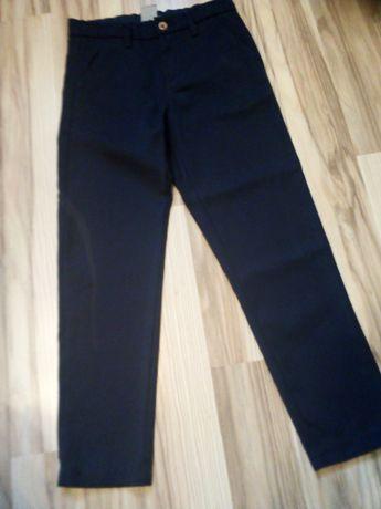 Spodnie wizytowe roz. 128