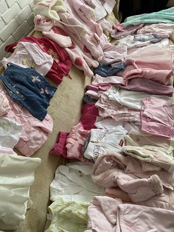 Ubranka dla dziecka od 1 do 12 miesiecy pakiet