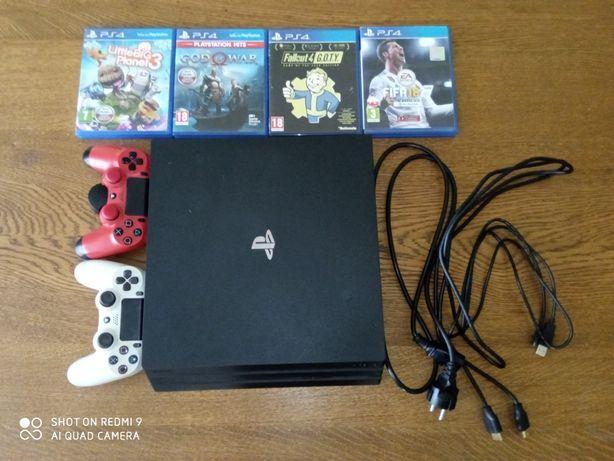 PlayStation 4 pro ps4 duży zestaw