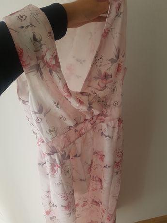 Sukienka na lato w kwiatki