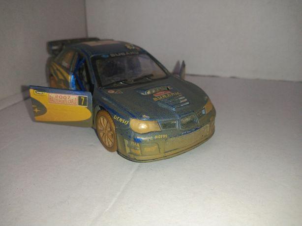 Subaru impreza WRC 2007 rok 12 cm