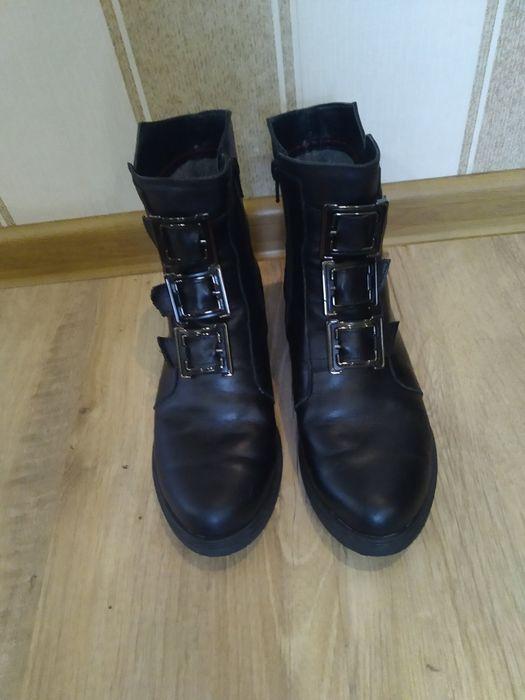 Ботинки кожа ботиночки 38 Кременчуг - изображение 1