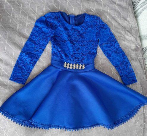 Продам синє плаття для дівчинки