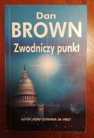 2 książki Dan Brown Zwodniczy punkt, Cyfrowa Twierdza