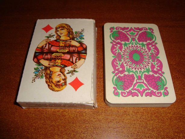 Игральные карты Русский стиль, 1990 г.