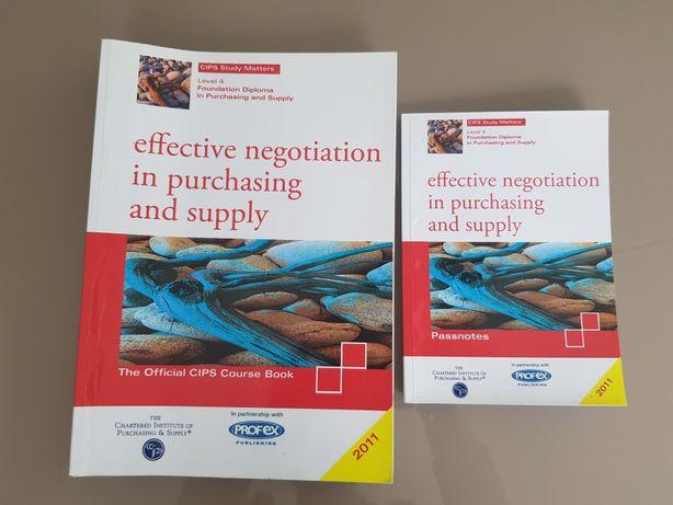 Negotiation in purchasing, egzamin CIPS, kupiec, Efektywne negocjacje