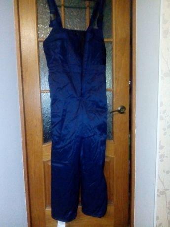 продам мужской рабочий зимний полукомбинезон с курткой