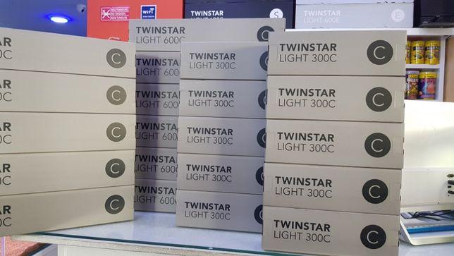 Calha led Twinstar 300C para aquario plantado