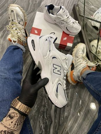 Кроссовки New Balance 530 White | кросівки Мужские/Женские
