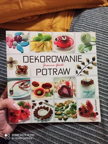 Książka Dekorowanie Potraw