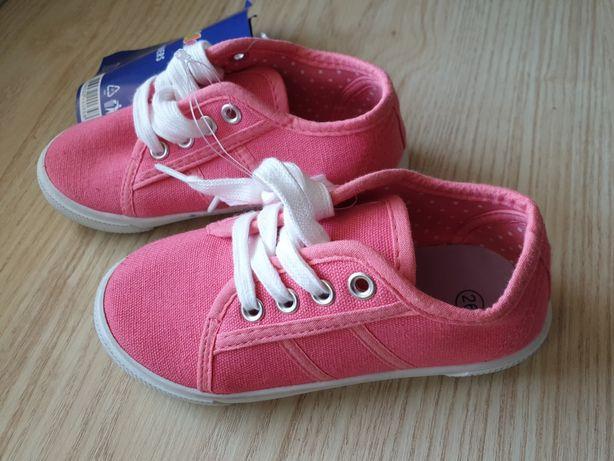 Nowe tenisówki dziecięce dziewczęce 25 26 Lupilu 31 34 trampki buty