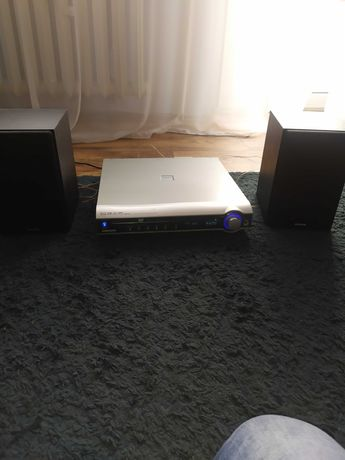 Radio DVD +2 głośniki