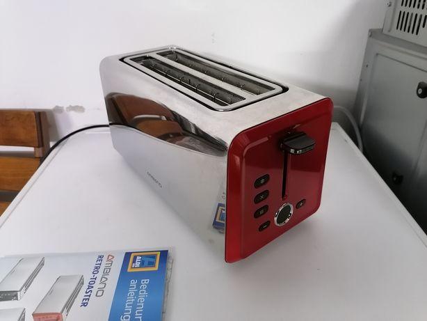 Большой и мощный, тостер из Германии! 1400 wt. Ambiano Retro Toaster