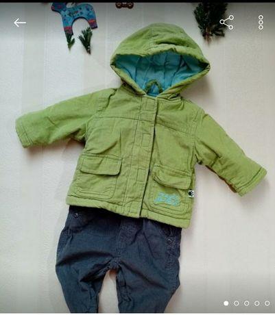 Продам детский комплект, курточка и комбинезон