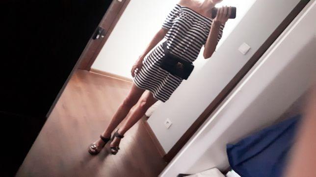 Sukienka tunika hiszpanka