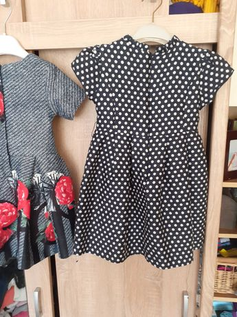 Sukienki orygunalne dziewczynka 3-4 lata