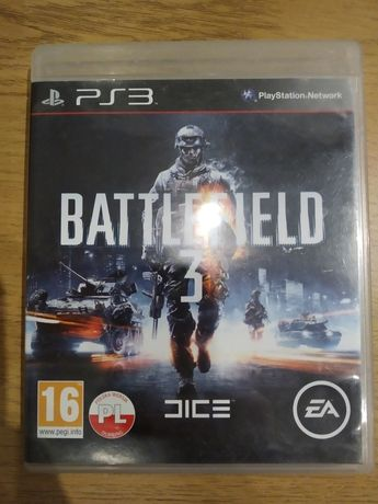 Battlefield 3 PS3, stan dobry.