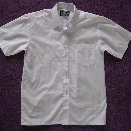 Biała koszula 128-134