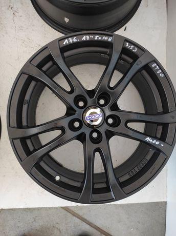 176 Felgi aluminiowe VOLVO R 17 5x108 bardzo ładne czarne