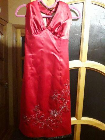 Платье вечернее (коктейльное), размер 36