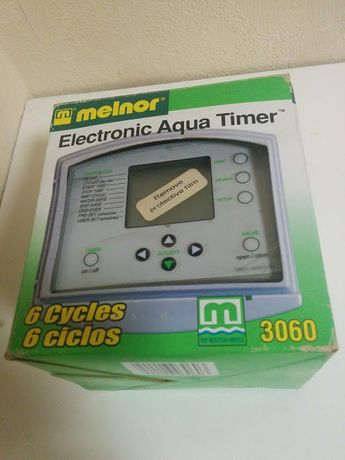 Электронный таймер воды, авто полив по времени